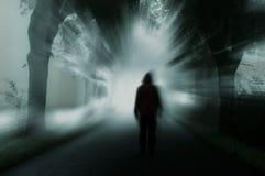 Σκοτεινή σκιαγραφία Στοκ Εικόνες