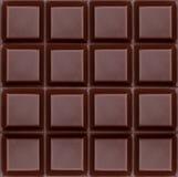 Σκοτεινή σοκολάτα καθαρή Στοκ εικόνες με δικαίωμα ελεύθερης χρήσης