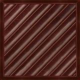 Σκοτεινή σοκολάτα καθαρή Στοκ Εικόνα