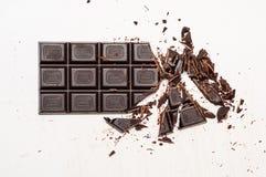 Σκοτεινή σοκολάτα στοκ φωτογραφίες