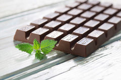 Σκοτεινή σοκολάτα Στοκ εικόνα με δικαίωμα ελεύθερης χρήσης