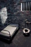 σκοτεινή φυλακή νύχτας κ&upsi Στοκ φωτογραφίες με δικαίωμα ελεύθερης χρήσης