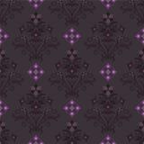 σκοτεινή floral άνευ ραφής ταπ&epsilo ελεύθερη απεικόνιση δικαιώματος