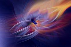 Σκοτεινή fractal φλογών προεξοχή υποβάθρου Περίληψη απεικόνιση αποθεμάτων
