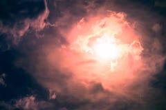 σκοτεινός ήλιος ουραν&omicr στοκ φωτογραφίες με δικαίωμα ελεύθερης χρήσης