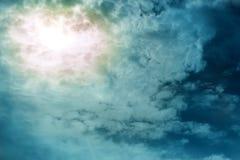 σκοτεινός ήλιος ουραν&omicr στοκ φωτογραφίες