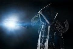 Σκοτεινός δαίμονας cosplay Στοκ φωτογραφία με δικαίωμα ελεύθερης χρήσης