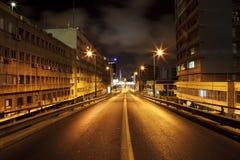 σκοτεινός δρόμος στοκ εικόνες