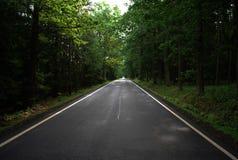 σκοτεινός δρόμος Στοκ Φωτογραφία