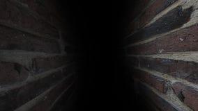 Σκοτεινός και θλιβερός, πλήρης των μυστηρίων, ο διάδρομος απόθεμα βίντεο