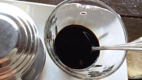 Σκοτεινός καφές στοκ φωτογραφίες