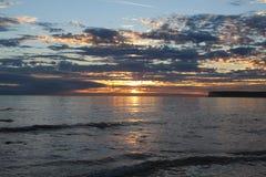 Σκοτεινός & ουρανός επώασης Στοκ εικόνα με δικαίωμα ελεύθερης χρήσης