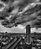 σκοτεινός ουρανός Στοκ εικόνα με δικαίωμα ελεύθερης χρήσης