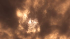σκοτεινός ουρανός απόθεμα βίντεο