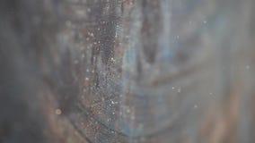 Σκοτεινός τοίχος σκόνης κανένας hd μήκος σε πόδηα απόθεμα βίντεο