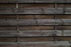 Σκοτεινός τοίχος του ξύλου Στοκ εικόνες με δικαίωμα ελεύθερης χρήσης