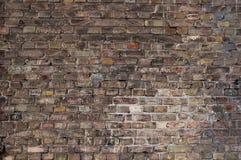 σκοτεινός τοίχος τούβλου ανασκόπησης Στοκ εικόνα με δικαίωμα ελεύθερης χρήσης