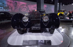 Σκοτεινός τύπος Bugatti του 1939 57C από VanVooren Στοκ Φωτογραφίες