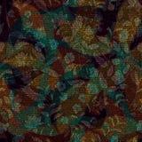Σκοτεινό άνευ ραφής σχέδιο του Paisley Αρχικό διακοσμητικό σκηνικό, ινδικό ύφος Στοκ Εικόνες