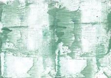 Σκοτεινό έγγραφο watercolor θάλασσας πράσινο ασαφές Στοκ φωτογραφία με δικαίωμα ελεύθερης χρήσης