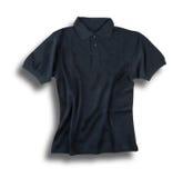 Σκοτεινό γκρίζο πουκάμισο πόλο Στοκ φωτογραφίες με δικαίωμα ελεύθερης χρήσης