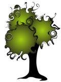 σκοτεινό δέντρο Στοκ εικόνα με δικαίωμα ελεύθερης χρήσης