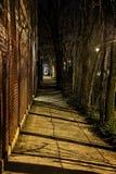 σκοτεινό διάνυσμα grundge πόλεων ανασκόπησης Στοκ Εικόνα