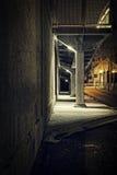 σκοτεινό διάνυσμα grundge πόλεων ανασκόπησης Στοκ φωτογραφίες με δικαίωμα ελεύθερης χρήσης