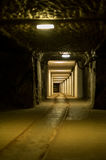 Σκοτεινό ορυχείο Στοκ φωτογραφίες με δικαίωμα ελεύθερης χρήσης