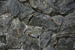 Σκοτεινό σχέδιο υποβάθρου grunge βράχου τοίχων στοκ εικόνες