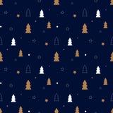 Σκοτεινό σχέδιο Χριστουγέννων Στοκ φωτογραφία με δικαίωμα ελεύθερης χρήσης