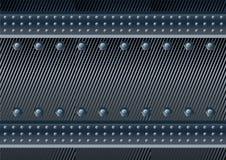 Σκοτεινό υπόβαθρο μετάλλων Στοκ φωτογραφία με δικαίωμα ελεύθερης χρήσης