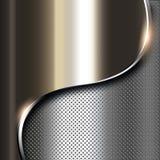 Σκοτεινό υπόβαθρο μετάλλων Στοκ Εικόνες