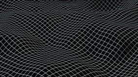Σκοτεινό υπόβαθρο πλέγματος - άνευ ραφής βρόχος απόθεμα βίντεο