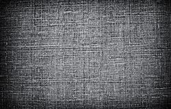 Σκοτεινό υπόβαθρο σύστασης λινού Στοκ φωτογραφία με δικαίωμα ελεύθερης χρήσης