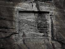 σκοτεινό υπόβαθρο σύστασης πετρών grunge Στοκ Φωτογραφία