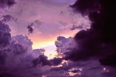 σκοτεινό φως δυνάμεων Στοκ Φωτογραφία