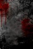 σκοτεινό ύφος αφισών σχεδίου Στοκ Φωτογραφία