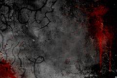 σκοτεινό ύφος αφισών σχε&delt Στοκ Εικόνα