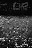σκοτεινό ύδωρ Στοκ Εικόνα