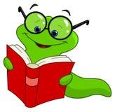 σκουλήκι βιβλίων Στοκ εικόνες με δικαίωμα ελεύθερης χρήσης