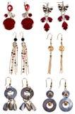 σκουλαρίκια που τίθεντ&a Στοκ φωτογραφία με δικαίωμα ελεύθερης χρήσης