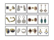 σκουλαρίκια συλλογής Στοκ Φωτογραφίες