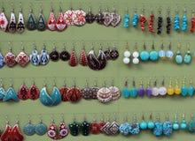 σκουλαρίκι Ασιάτης Στοκ φωτογραφία με δικαίωμα ελεύθερης χρήσης