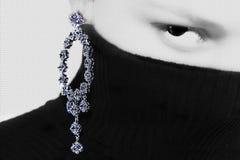 σκουλαρίκι γραφικό Στοκ Φωτογραφία