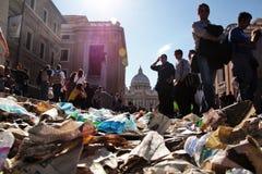 σκουπίδια μακαριότητας Στοκ εικόνες με δικαίωμα ελεύθερης χρήσης