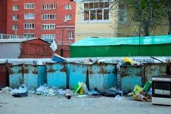 σκουπίδια συλλογής Στοκ φωτογραφίες με δικαίωμα ελεύθερης χρήσης