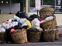 σκουπίδια σωρών Στοκ Φωτογραφίες