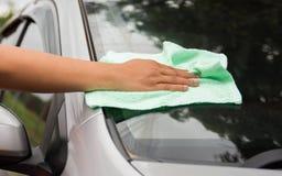 σκουπίστε το αυτοκίνητο στοκ φωτογραφία με δικαίωμα ελεύθερης χρήσης