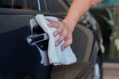 σκουπίστε το αυτοκίνητο Στοκ Εικόνα